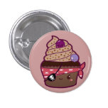 Pirate Cupcake Buttons