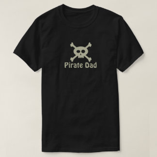 Pirate Dad Personalized Dark T-Shirt