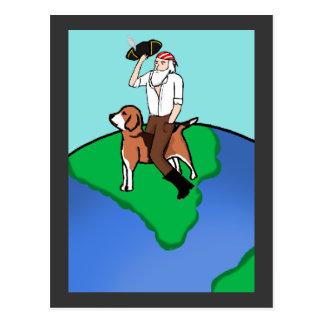 Pirate Darwin Postcard