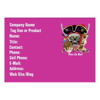Pirate Days Dual Logo Bicentennial Pls View Notes Business Cards