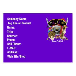 Pirate Days Dual Logo Bicentennial Pls View Notes Business Card