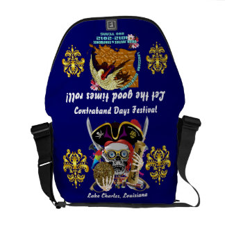 Pirate Days Dual Logo Bicentennial  Pls View Notes Commuter Bag