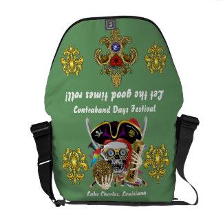 Pirate Days Dual Logo Bicentennial  Pls View Notes Commuter Bag