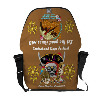 Pirate Days Dual Logo Bicentennial  Pls View Notes Commuter Bags
