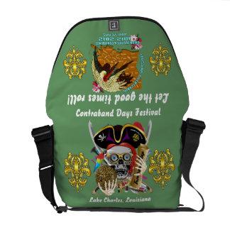 Pirate Days Dual Logo Bicentennial  Pls View Notes Courier Bag