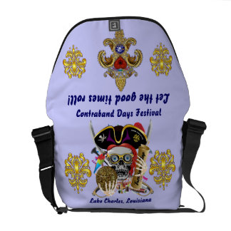 Pirate Days Dual Logo Bicentennial  Pls View Notes Courier Bags