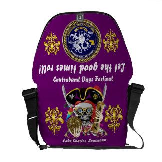 Pirate Days Dual Logo Bicentennial  Pls View Notes Messenger Bags