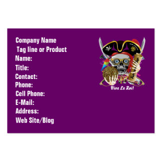 Pirate Days Dual Logo Bicentennial  Pls View Notes Pack Of Chubby Business Cards