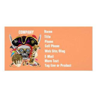 Pirate Days Lake Charles, Louisiana. 30 Colors Customised Photo Card