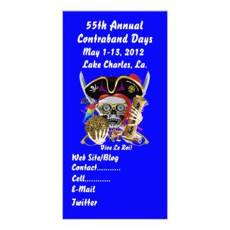 Pirate Days Lake Charles, Louisiana. 30 Colors Photo Cards