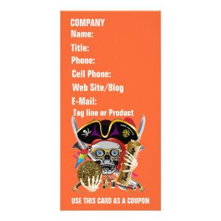 Pirate Days Lake Charles, Louisiana. 30 Colors Customized Photo Card