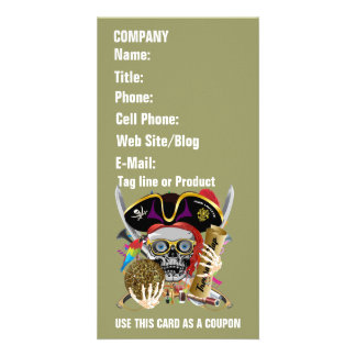 Pirate Days Lake Charles, Louisiana. 30 Colours Personalized Photo Card