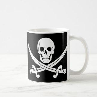 Pirate - Death Before Decaf Coffee Mug