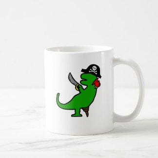 Pirate Dinosaur Coffee Mugs