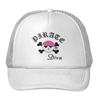 Pirate Diva Cap