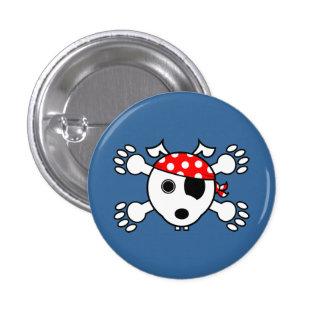 Pirate Dog 3 Cm Round Badge
