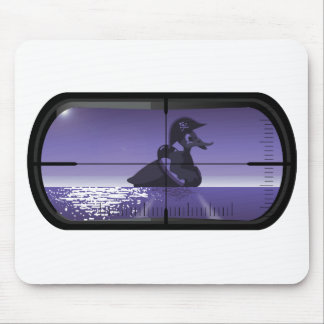 Pirate Duck Torpedoed Mouse Pad