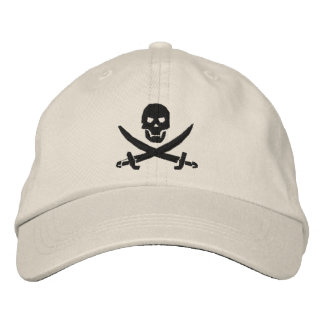 Pirate Embroidered Cap