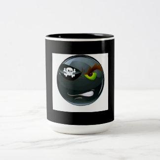 Pirate Emoji Mug by Manly Man