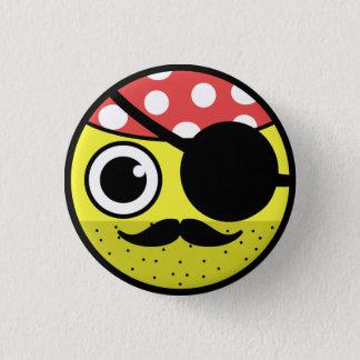 Pirate Face 3 Cm Round Badge