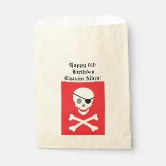 """Pirate"" Favor Bags"