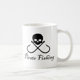 Pirate Fishing Coffee Mug