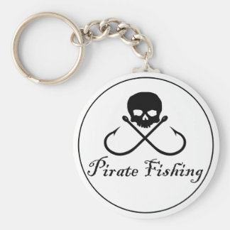 Pirate Fishing Keychain