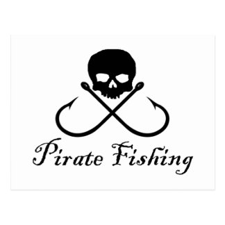 Pirate Fishing Postcard