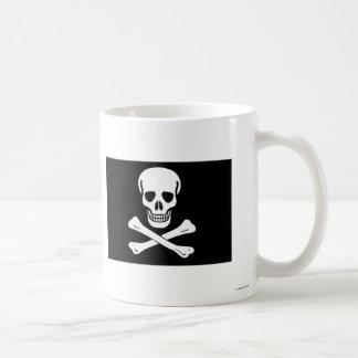 Pirate Flag Basic White Mug