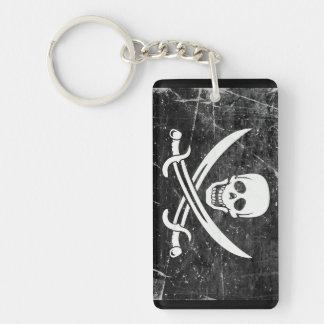 Pirate Flag Key Chain Souvenir