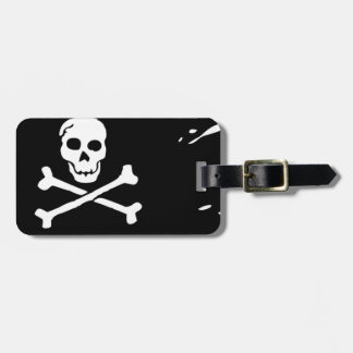 Pirate Flag Luggage Tag