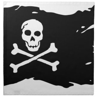 Pirate Flag Napkin