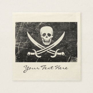 Pirate Flag Party Napkins Paper Napkin