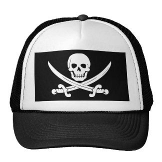 Pirate Flag Skull and Crossbones Jolly Roger Gift Cap