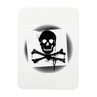 Pirate Flag Skull and Crossbones Jolly Roger Magnet