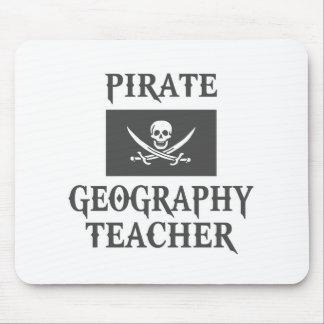 Pirate Geography Teacher Mousepads