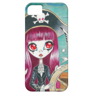 "Pirate Girl : ""Hilda"" iPhone 5 Cover"