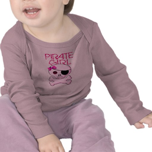 Pirate Girl - Kid's Pirate Party TShirt