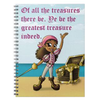 """Pirate Girl"" Notebooks"
