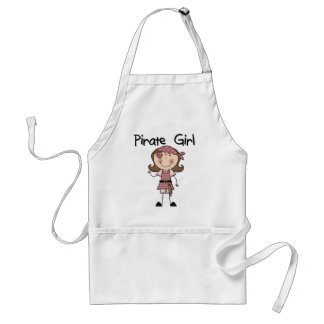 Pirate Girl Tshirts and Gifts Standard Apron