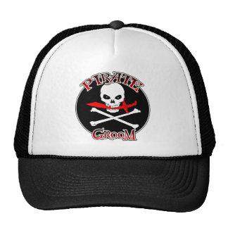 Pirate Groom Cap