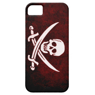 Pirate Grunge Blood Flag Barely There iPhone 5 Case