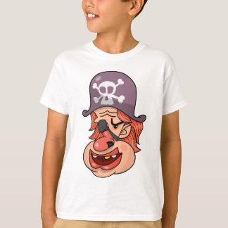 Pirate Head Cartoon T-Shirt