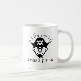 Pirate in Former Life Mug