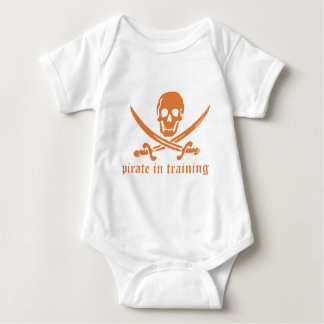 Pirate In Training Baby Bodysuit