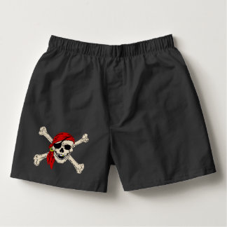 Pirate, Jolly Roger Boxers