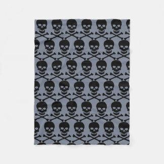 Pirate Jolly Roger Fleece Blanket