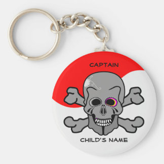 Pirate, Jolly Roger Key Ring