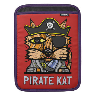 """Pirate Kat"" iPad, iPad Mini, MacBook Air Sleeve"