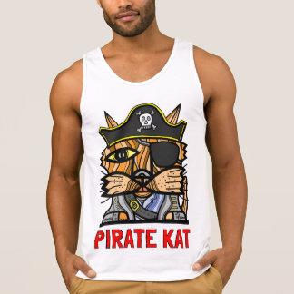 """Pirate Kat"" Men's Tank Top"